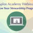 Free Webinar – Grow Your Stewardship Program