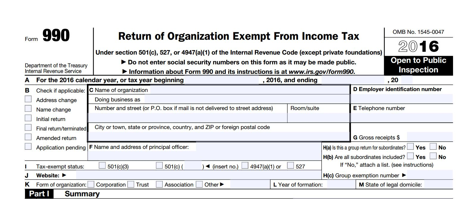Understanding The IRS Form 990