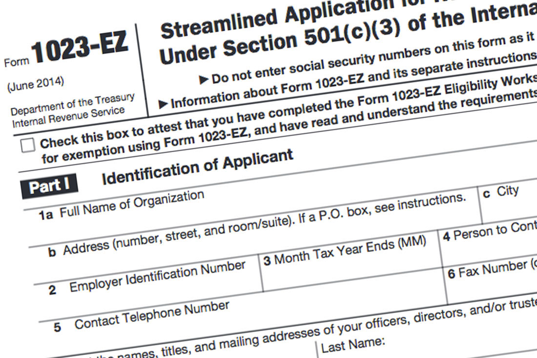 What Is Form 1023-EZ? - Foundation Group®