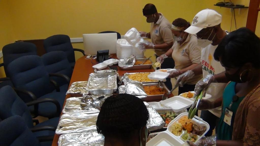 Feeding Caribbean 3