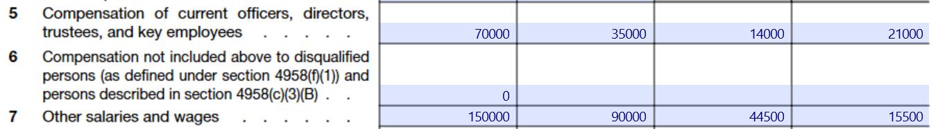 Allocation of Nonprofit Expenses in Three Allocations